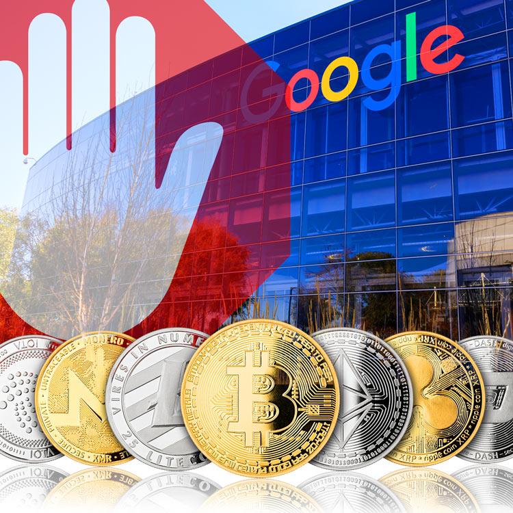 Google prohibirá a partir de junio los anuncios de criptomonedas
