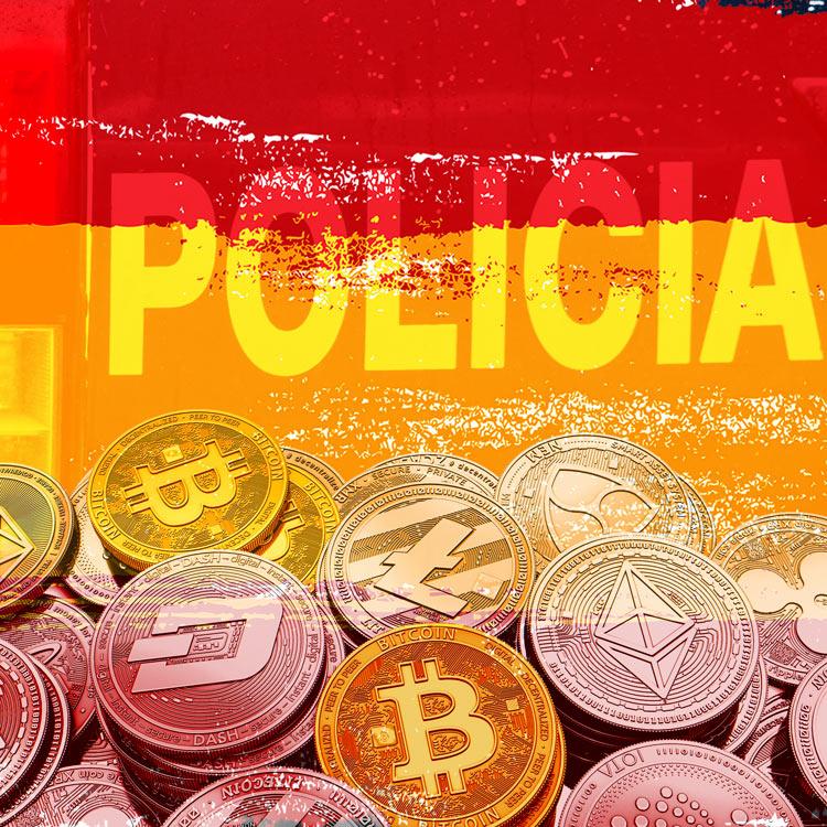 Policía española creará un cuerpo especializado en criptomonedas