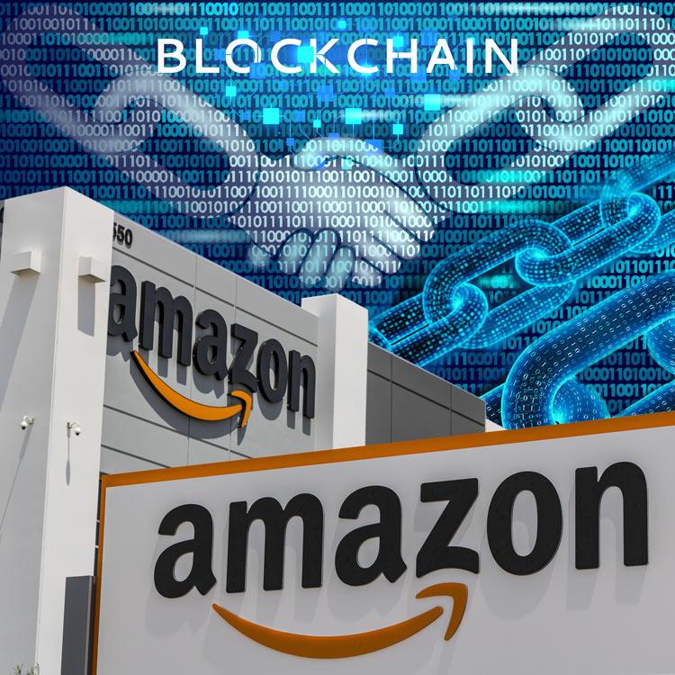 Amazon pide patente blockchain