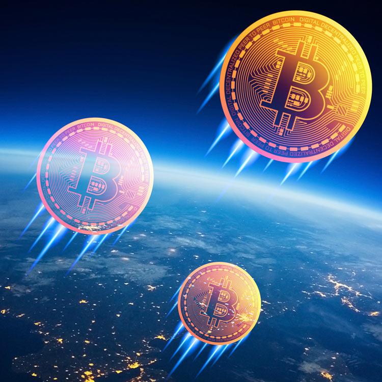 Bitcoin sube de forma explosiva