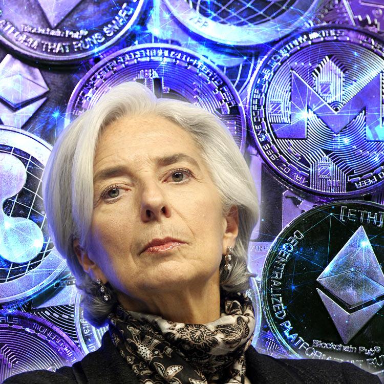 Directora del FMI insta de nuevo a bancos centrales a aceptar las cripto