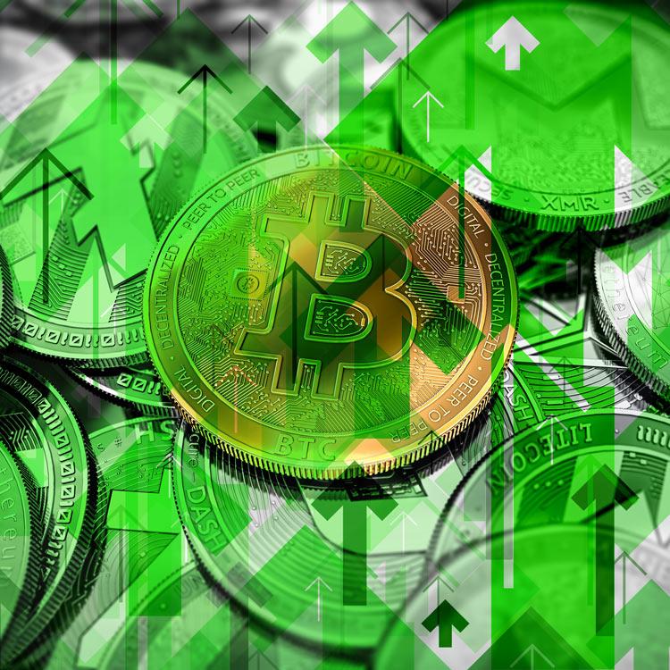 Bitcoin y Criptomercado en verde