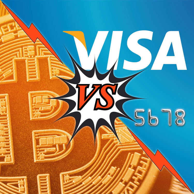 Visa vs Bitcoin