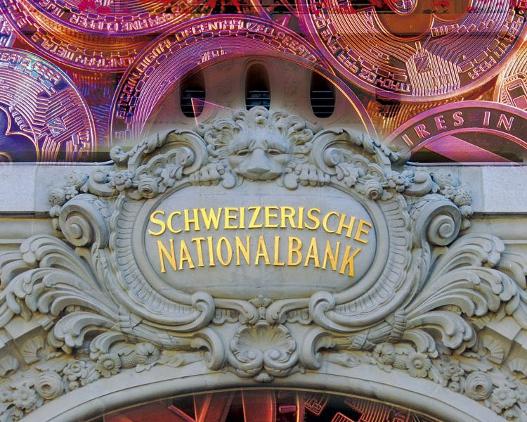 SWISS NATIONAL BANK SE ATREVE CON LAS CRIPTOMONEDAS