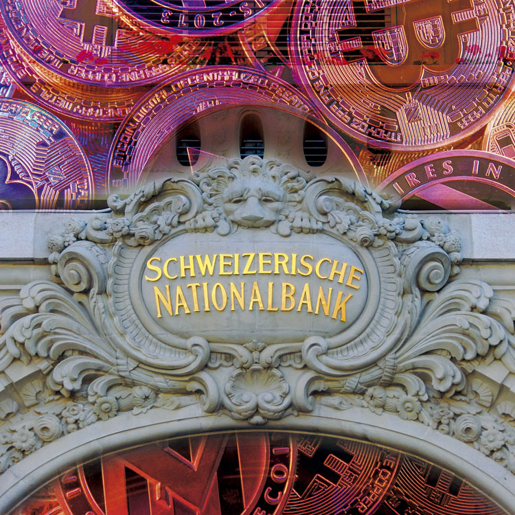 SWISS NATIONAL BANK SE ATREVE CON LAS CRIPTOMONEDAS