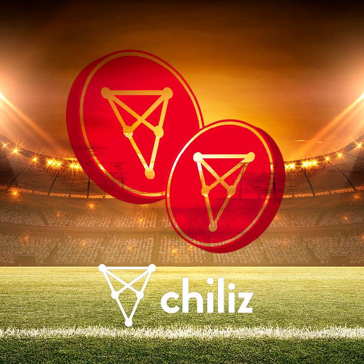 El token Chiliz CHZ, centrado en deporte y entretenimiento.