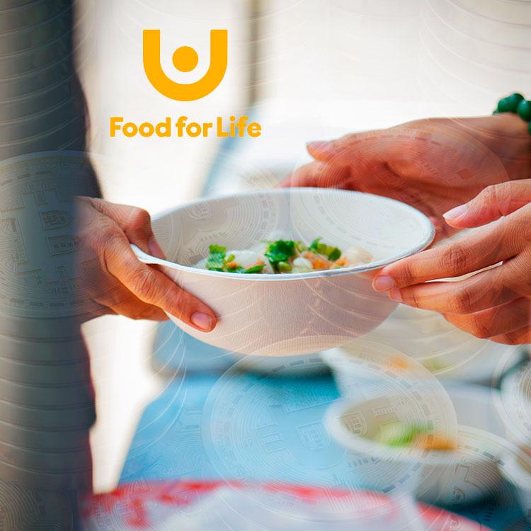 Food For Life Global acepta la criptografía para luchar contra el hambre en el mundo