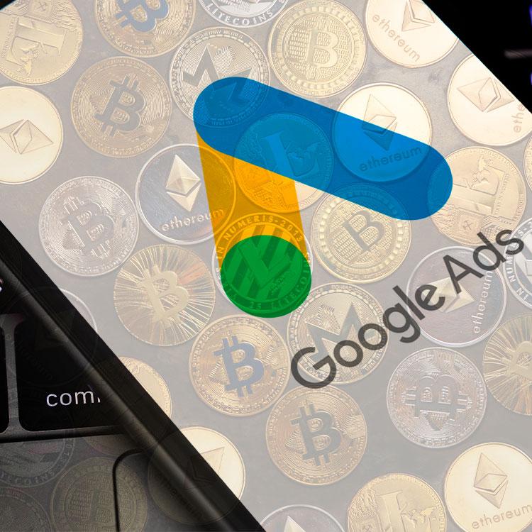 Google ajusta la política de anuncios de criptomonedas
